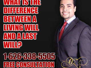 What is the difference between a living will and a last will?