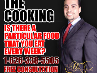The Cooking - Is There A Particular Food That You Eat Every Week?