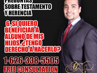 Preguntas Sobre TestamentoY Herencia - 6. Si Quiero Beneficiar A Alguno De Mis Hijos, Tengo Derecho