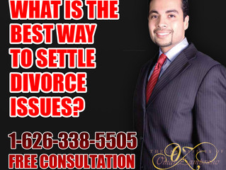 What is the best way to settle divorce issues?