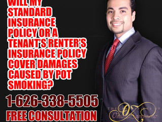 Will my standard insurance policy or a tenant's renter's insurance policy cover damages caused by po