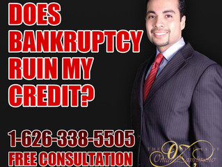 Does bankruptcy ruin my good credit?