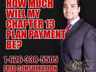 How Much Will My Chapter 13 Plan Payment Be?