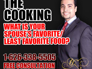 The Cooking - What Is Your Spouse's Favorite/Least Favorite Food?