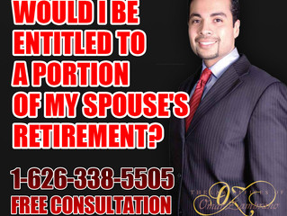 Would I be entitled to a portion of my spouse's retirement?