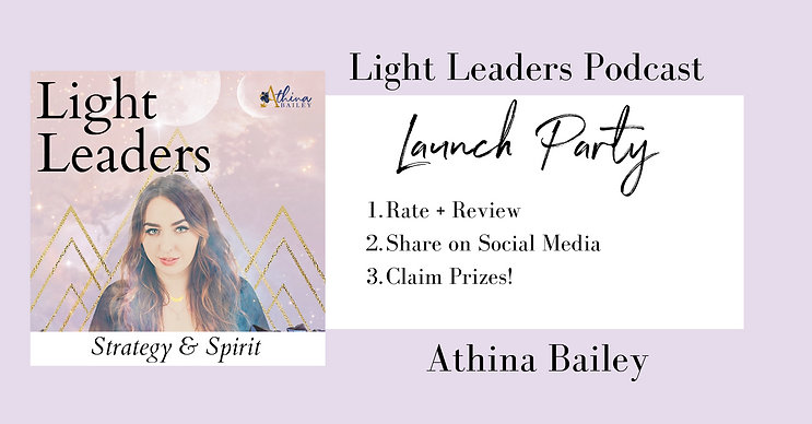 light leaders podcast launch party cover