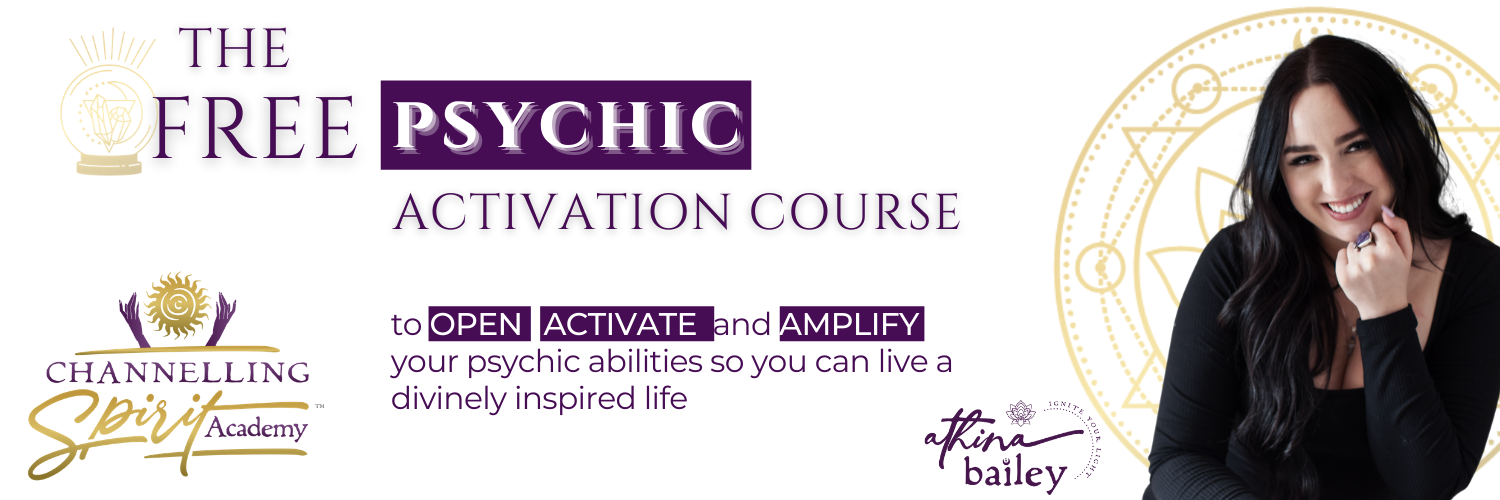 Copy of Psychic Activation Course Banner