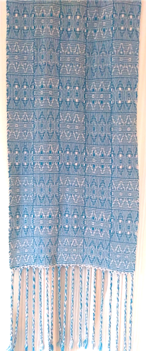 Linda W shadow weave scarf 2