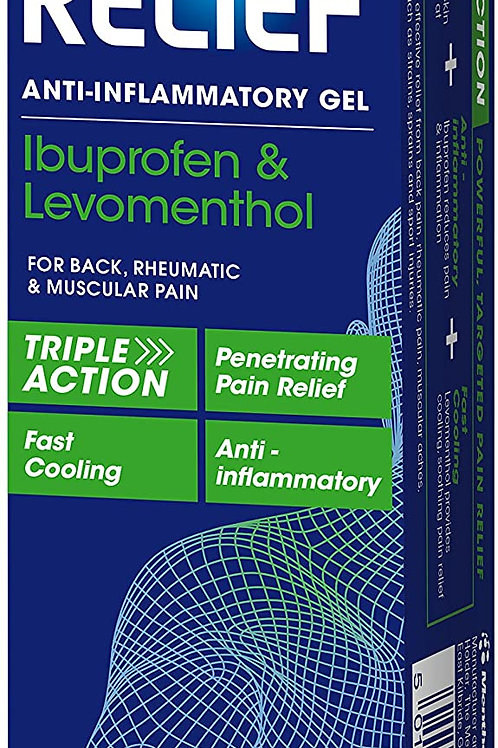Deep Relief Triple Action Anti-Inflammatory Gel 5% 50g