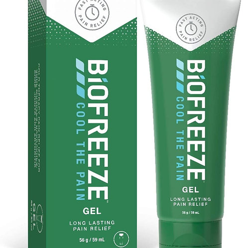 Biofreeze Pain Relieving Gel, 59 ml Tube, Cooling Topical Analgesic