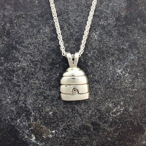 Sterling Silver Skep pendant