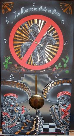 Dia de los Muertos Clock