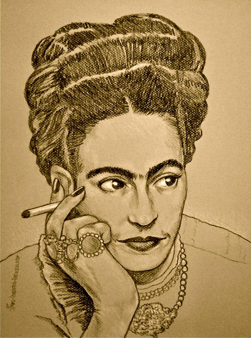 Frida Sketch