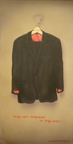 Tengo que comprarme un traje negro
