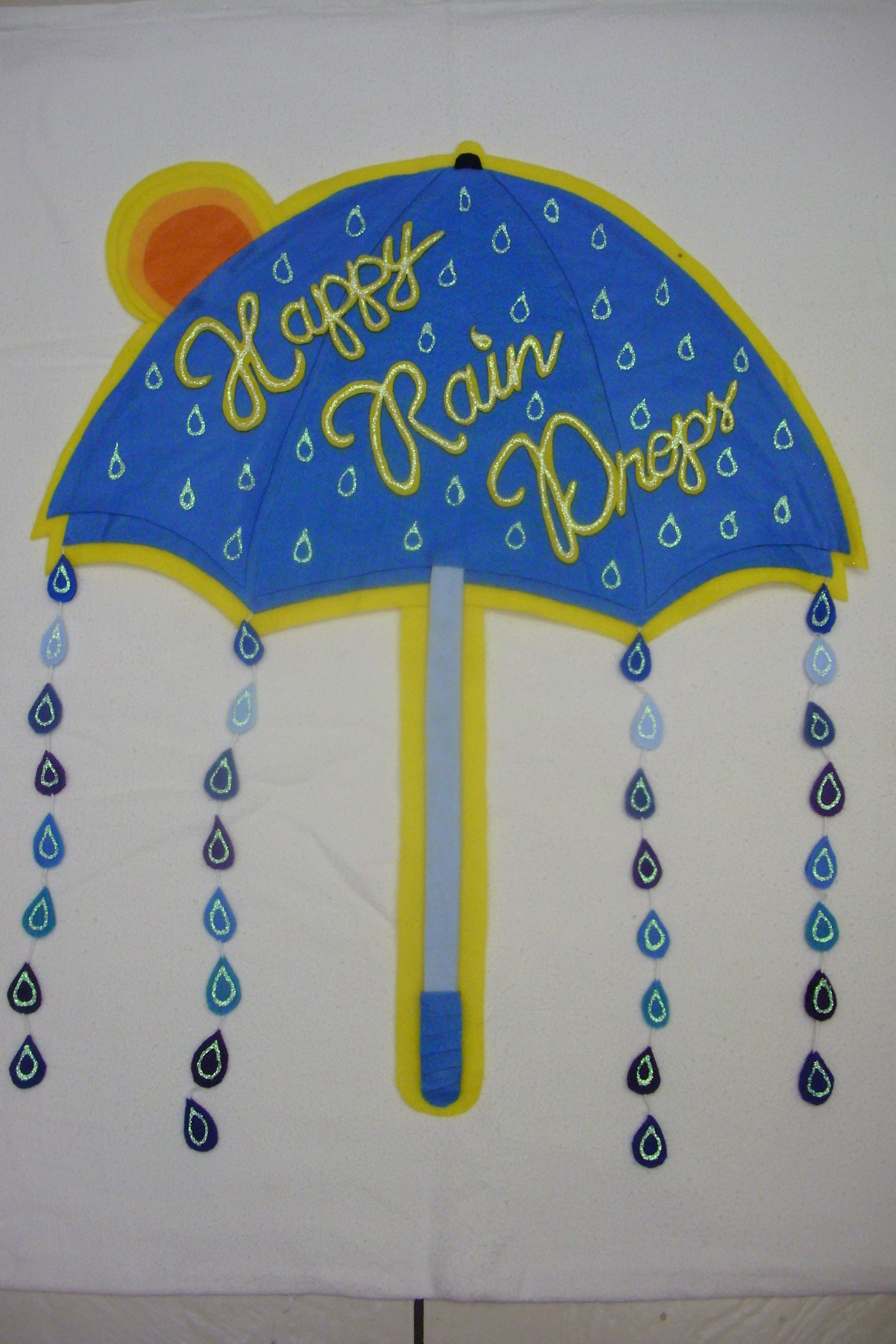 Happy Rain Drops