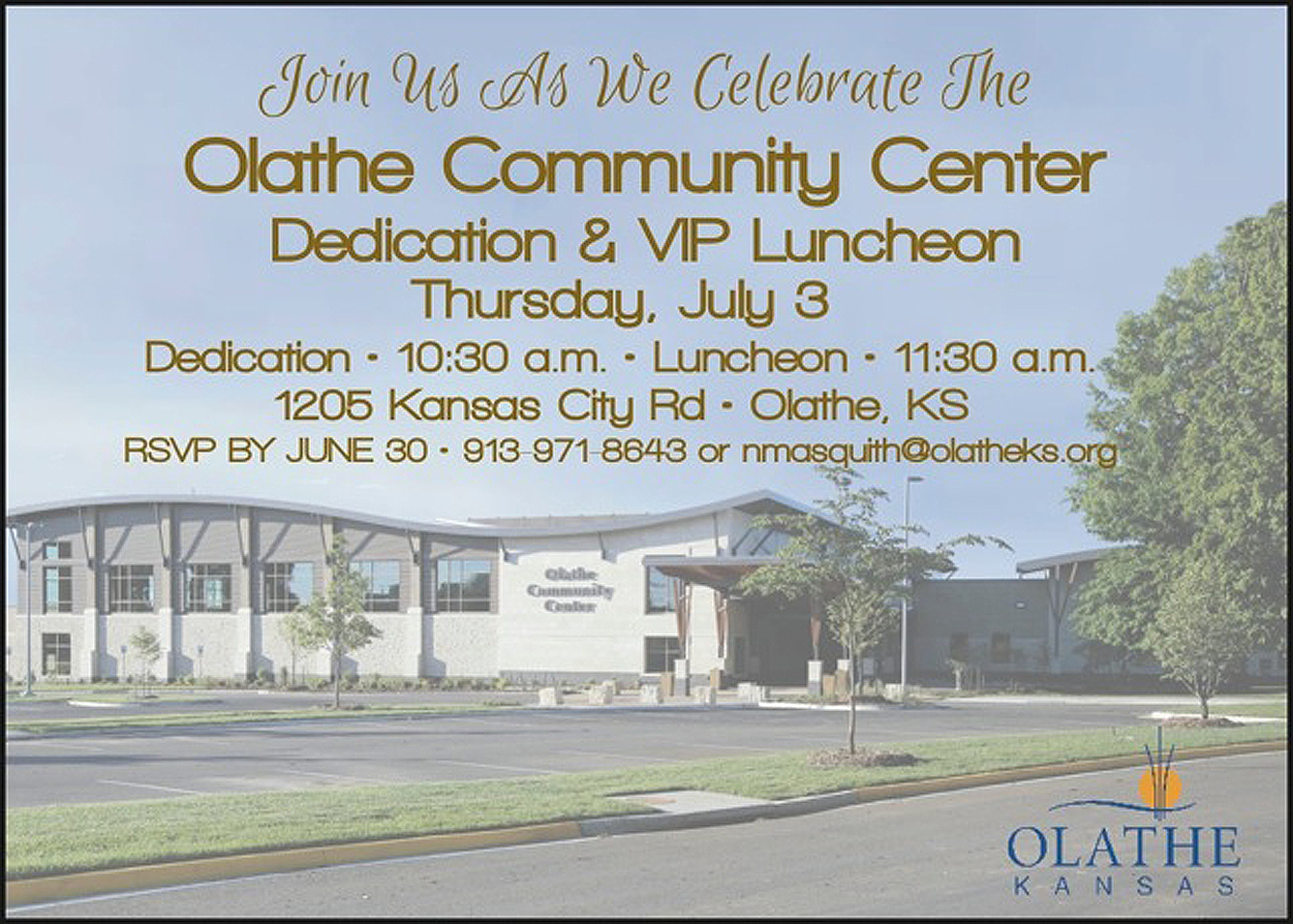 Olathe Community Center 2014