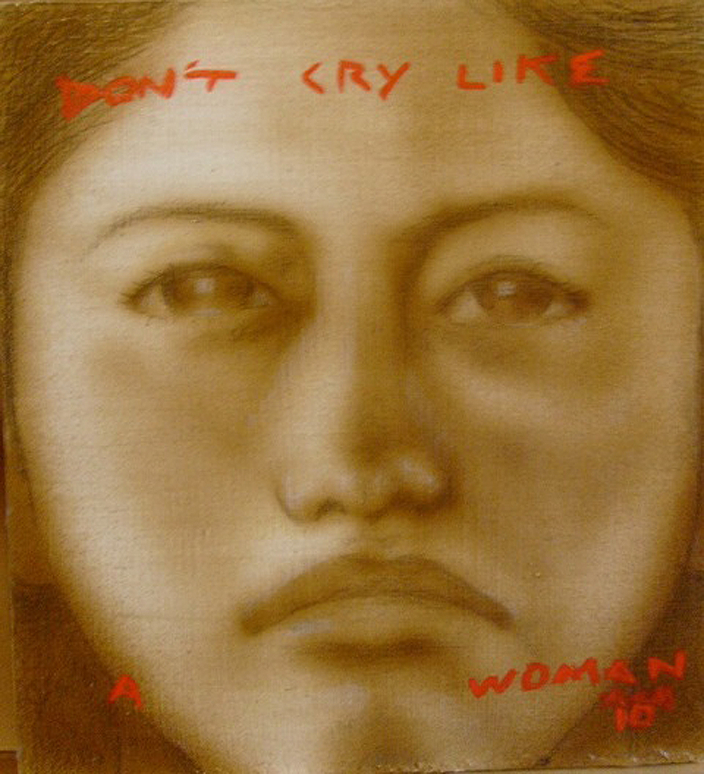 Don't Cry Like A Woman