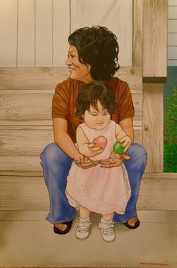Rosalinda y Maya