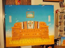 Finished Painting, Olathe Comm Ctr