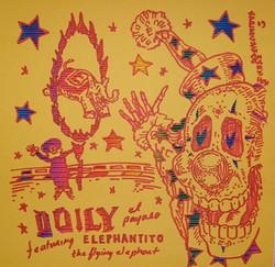 Doily featuring Elephantito