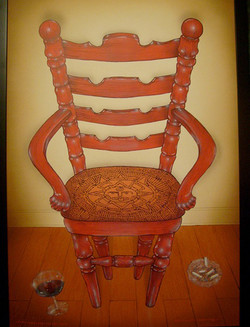 Really Angry Chair24 x 36