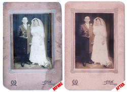 Traditional Photo Retouching