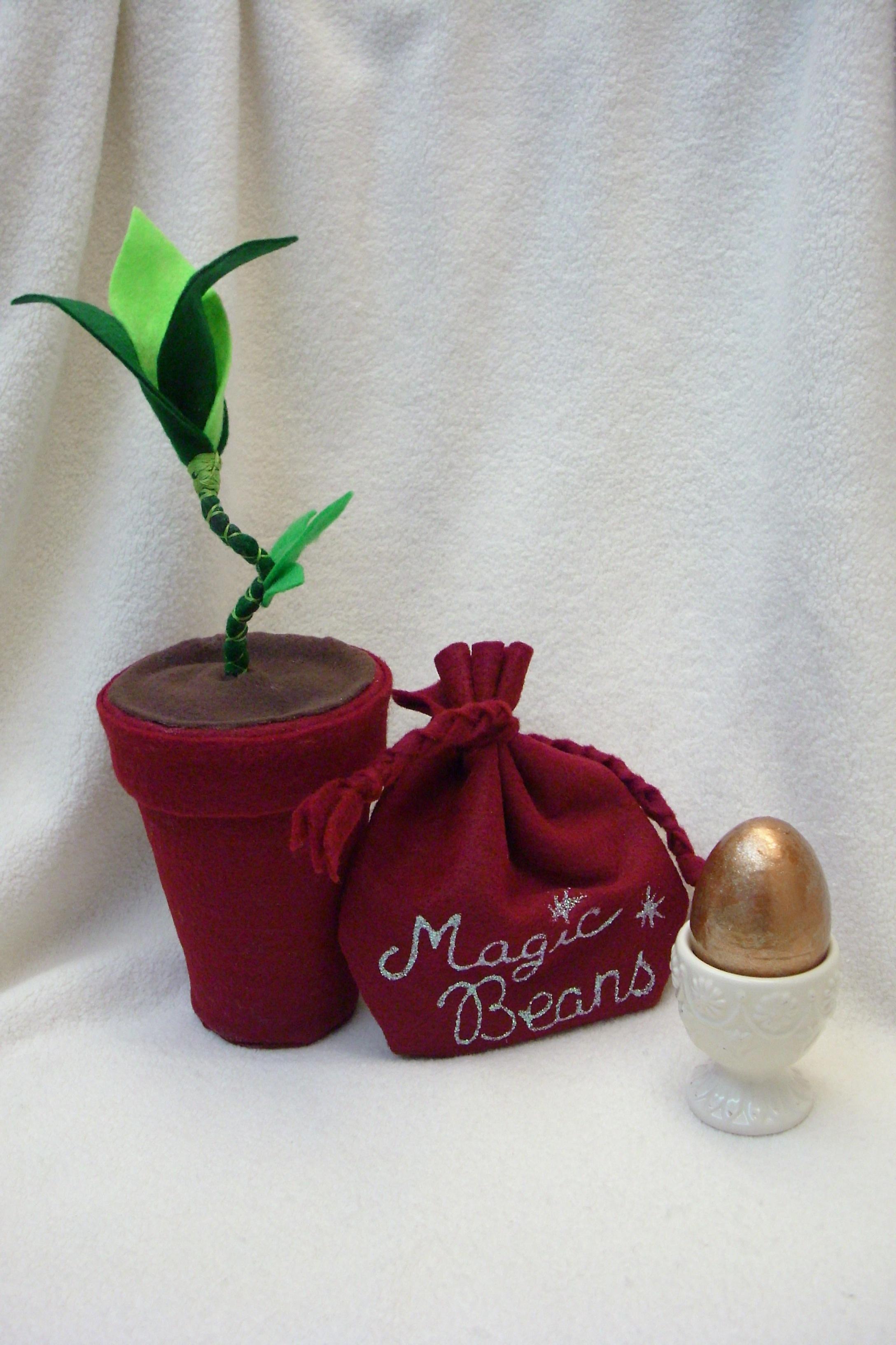 Bean Stalk, Magic Beans & Golden Egg