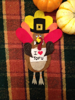 Turkey Place Markers or Magnets