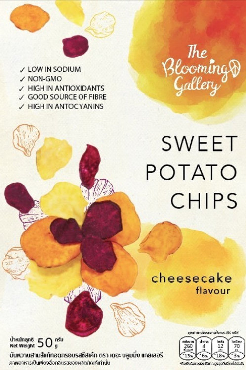 The Blooming Gallery Chips - Cheesecake Flavour **CARTON**