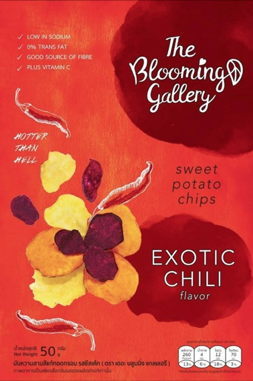 The Blooming Gallery Chips - Exotic Chili