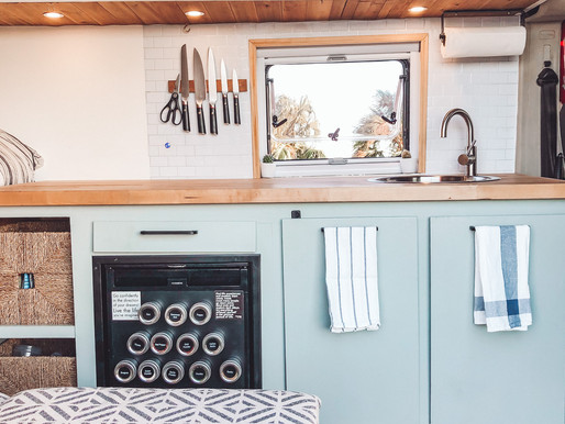 Our {Van} Kitchen Must-Have Items