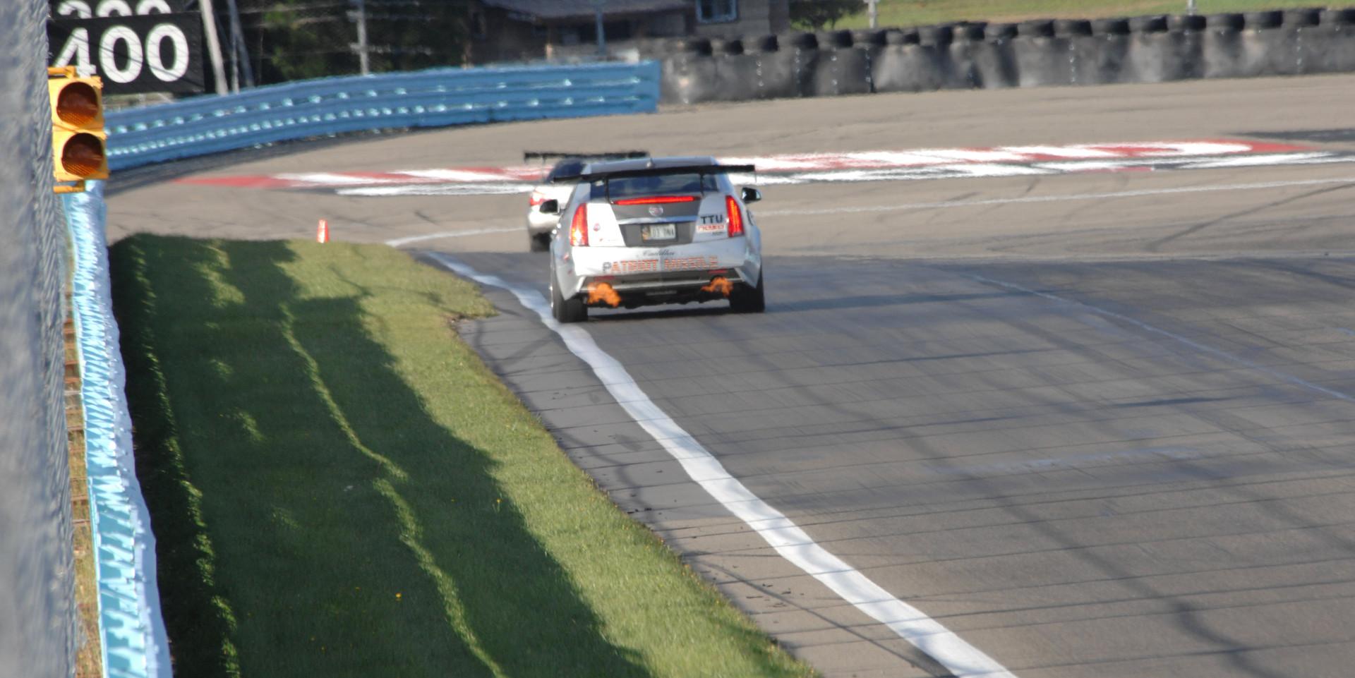 CTS-V Racing at Watkins Glen with NASA NE (9-29-2013)