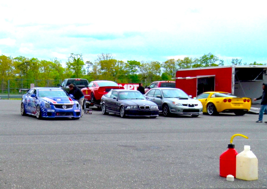 Getting ready to race at NJMP with NASA NE (May 5-7, 2015)
