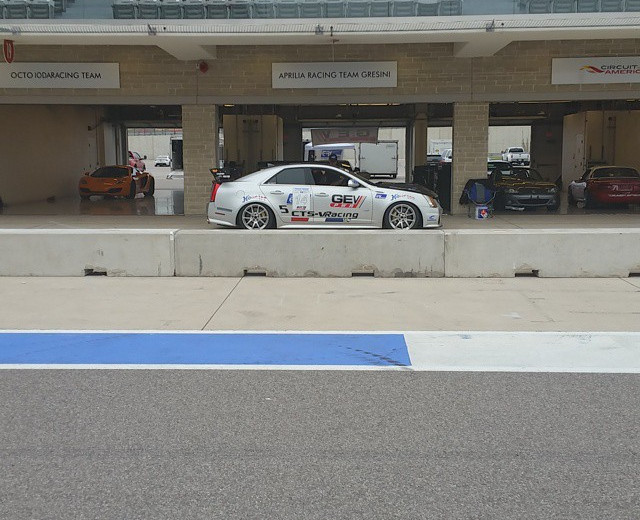 In the pit at the Cadillac Challenge at COTA (4-25-2015)