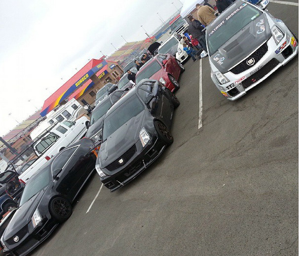 V's at Cadillac Challenge: Round 1 at Autoclub Speedway (2-22-2015)