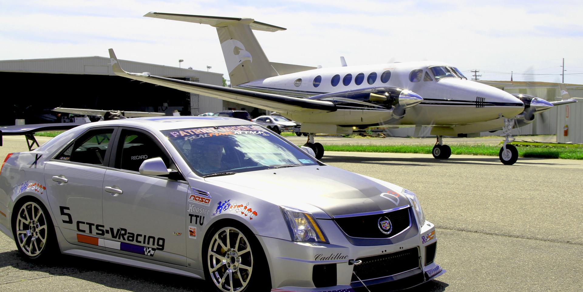 CTS-V Racing photoshoot at Republic Airport (8-15-2013)