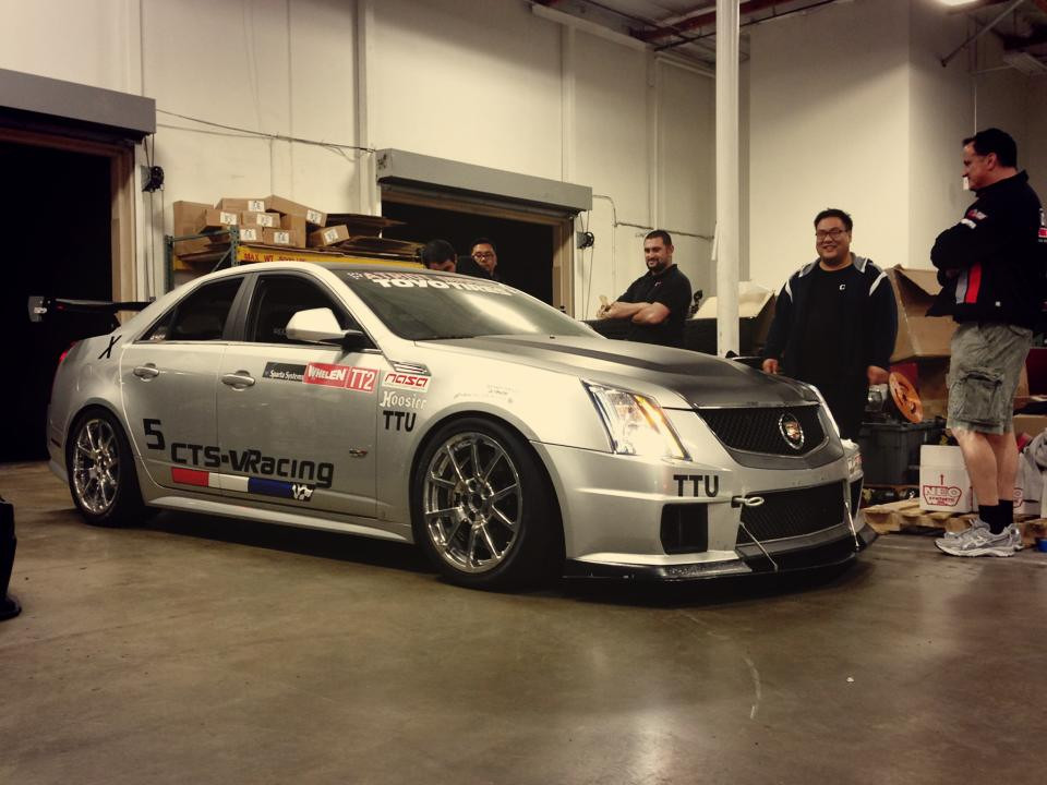 Getting prepped for Cadillac Challenge (3-24-2013)