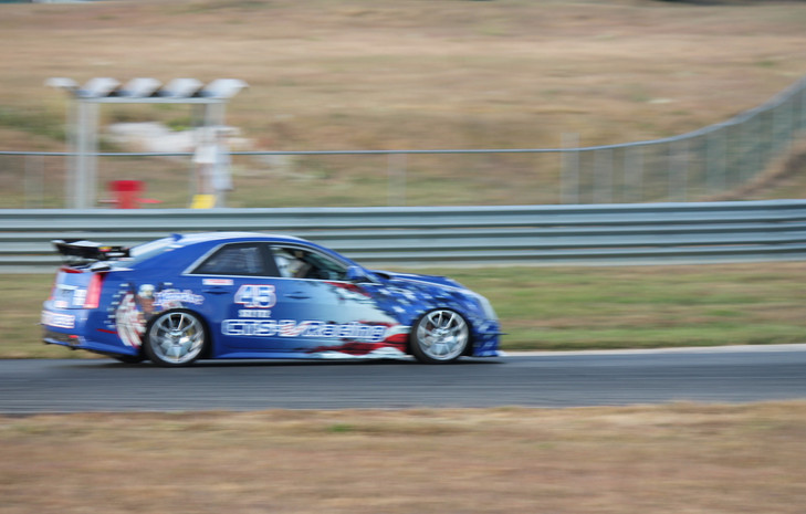 The Patriot Missile on track at NJMP to race with PCA (10-9-2017)