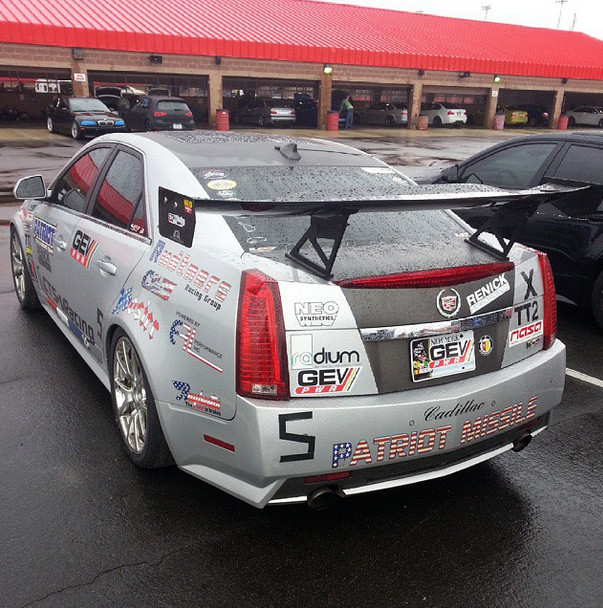 Waiting...at Cadillac Challenge: Round 1 at Autoclub Speedway (2-22-2015)