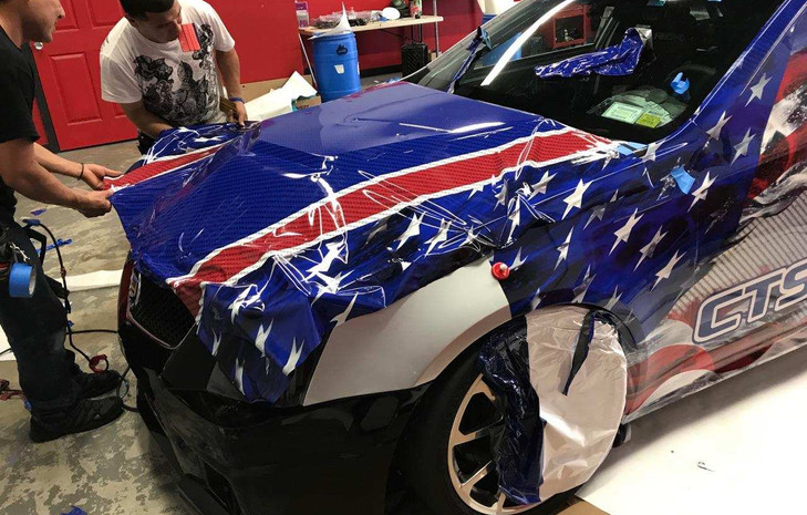 The Patriot Missile has a new look thanks to GDezine Wraps (May 2017)