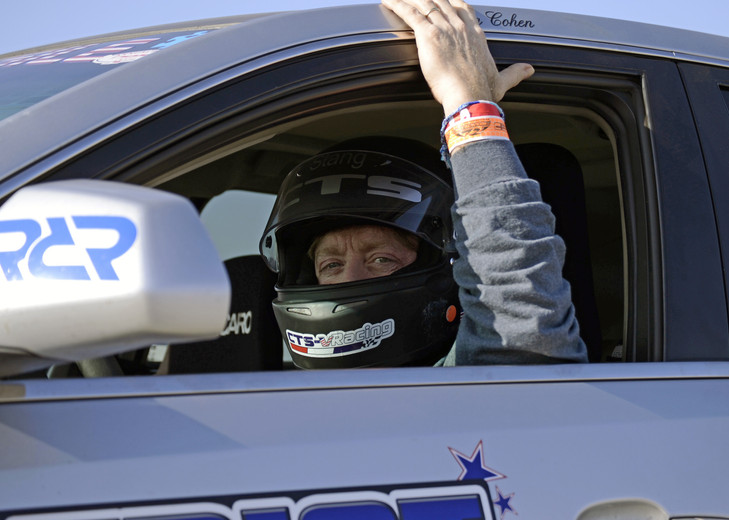Driver, Alan Cohen ready to go at Cadillac Challenge: Round 2 at Buttonwillow (3-8-2015)