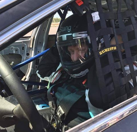 Driver, Alan Cohen ready to race at NJMP Lightning Course with NASA NE (5-20-2015)