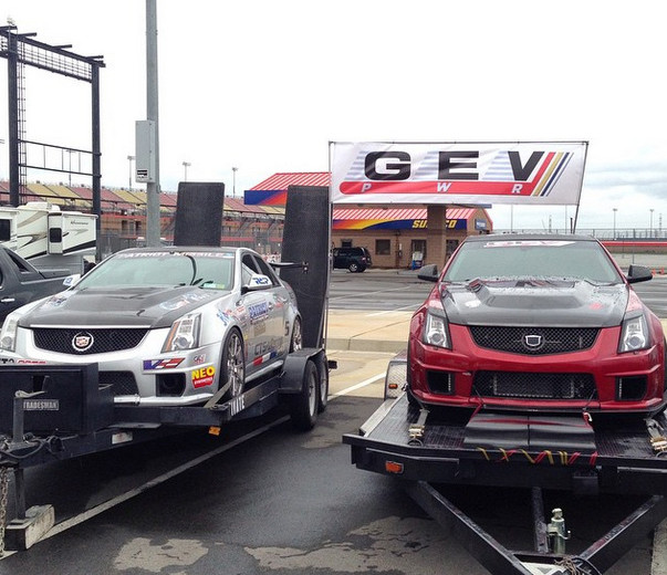 Ready to go back to the shop after  Cadillac Challenge: Round 1 at Autoclub Speedway (2-22-2015)