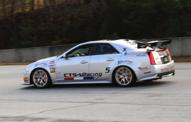 CTS-V Racing at Road Atlanta with NASA SE (12-7-2013)