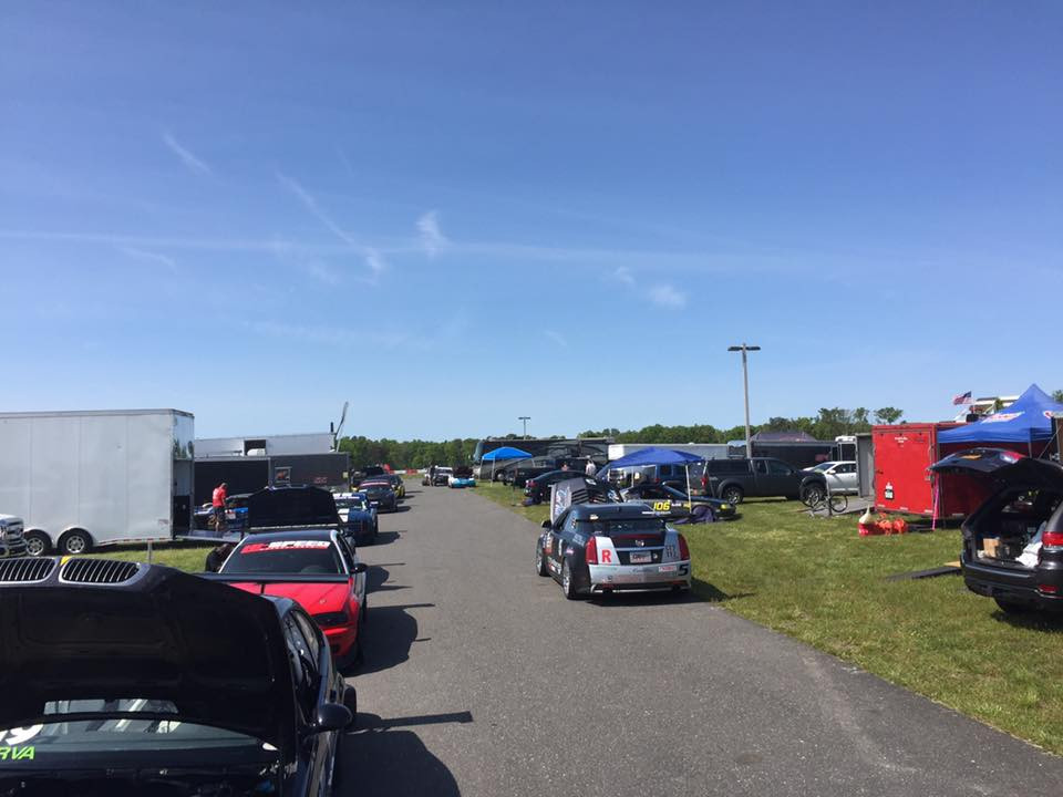 Ready to go home after the race at NJMP Lightning Course with NASA NE (5-20-2015)