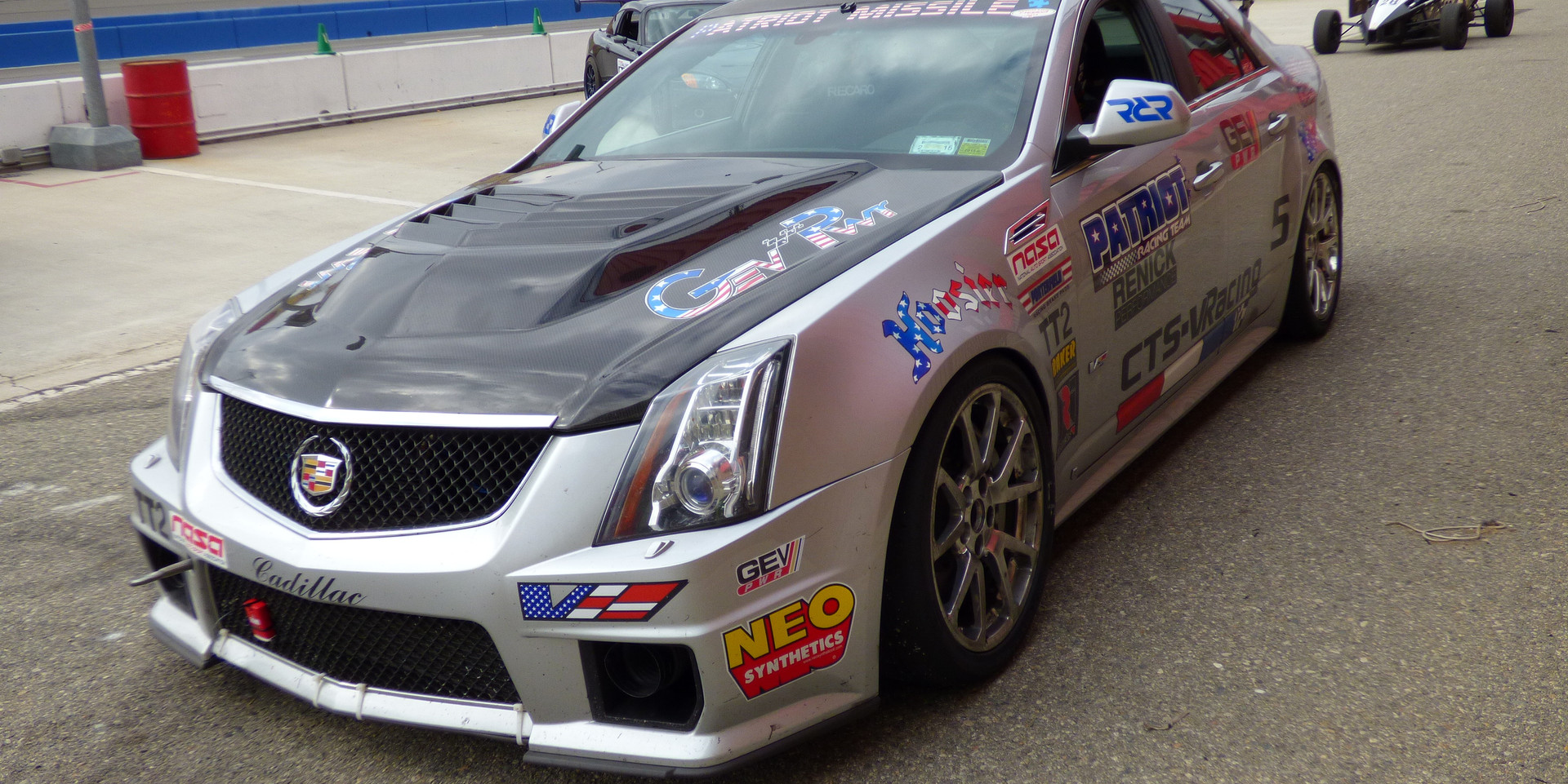 CTS-V Racing at Cadillac Challenge: Round 1 at Autoclub Speedway (2-22-2015)