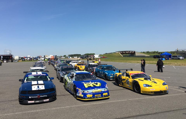 Lined up at NJMP Lightning Course with NASA NE (5-20-2015)