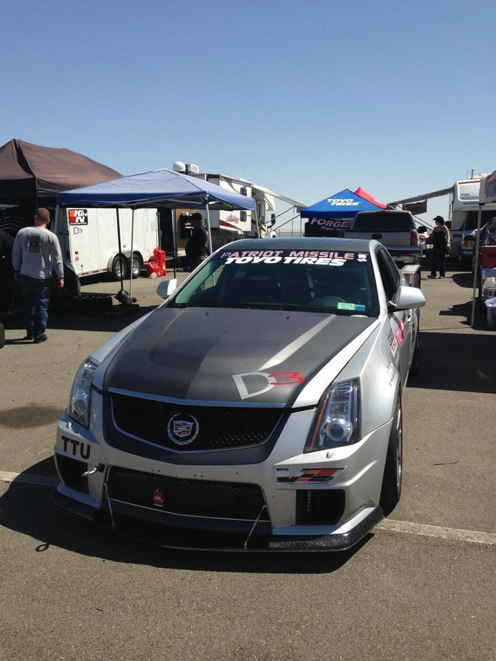 CTS-V Racing at Chuckwalla Raceway for Cadillac Challenge (3-24-2013)