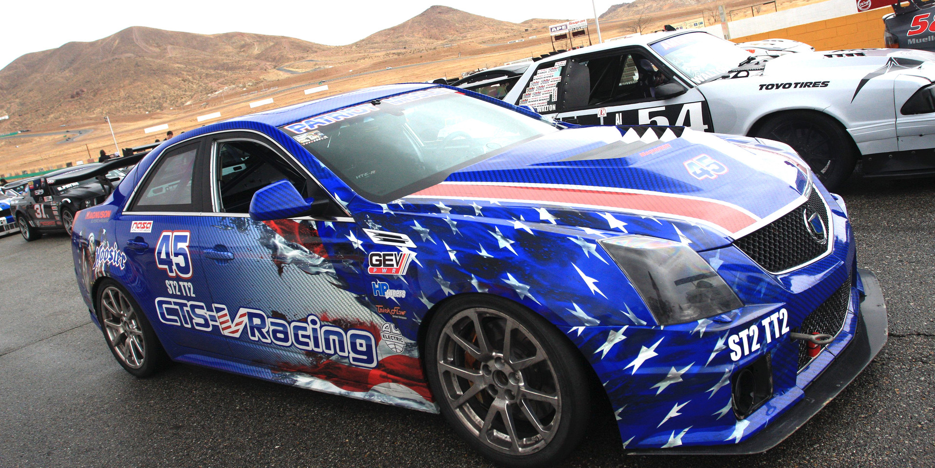 The Patriot Missile takes 2nd Place at Willow Springs with NASA SoCal (3-11-2018)