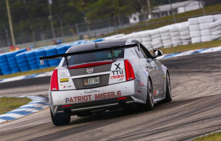 CTS-V Racing on track at NASA SE @ Sebring International Raceway (2-4-2014)